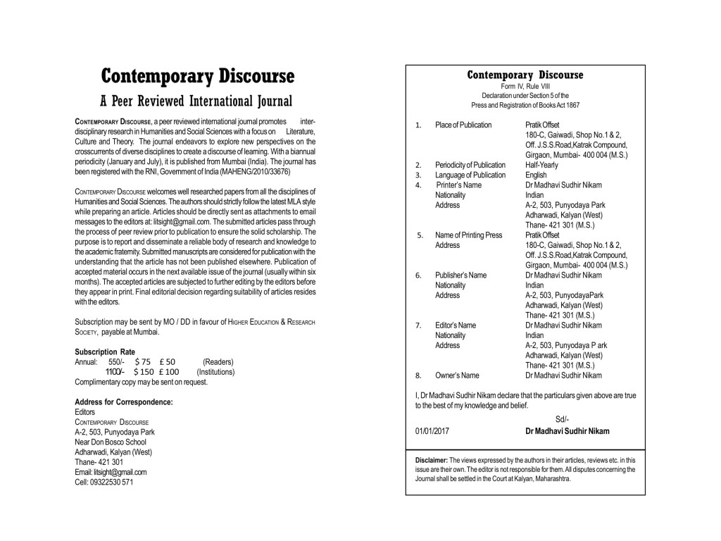Contemporary Discourse-2 - 3 COVER-2
